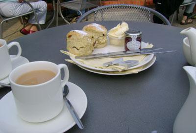 Tiptree cream teas