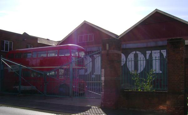 Depot Entrance in Daytime