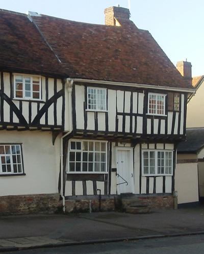Lavenham - wonky house
